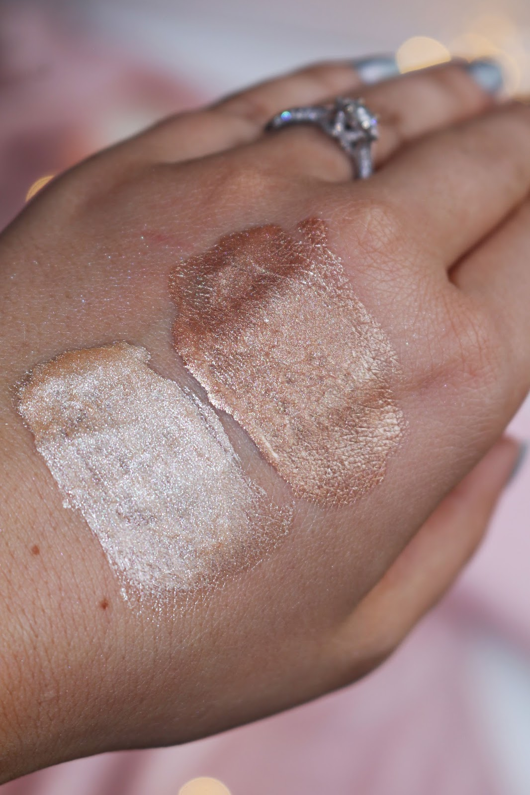 Barry M Liquid Chrome Highlighter Drops, Barry M new highlighter, Barry M, liquid highlighter, barry m chrome highlighter drops review, Beauty, Drugstore, Highlighters, Make Up, Barry M Liquid Chrome Highlighter Drops Swatches