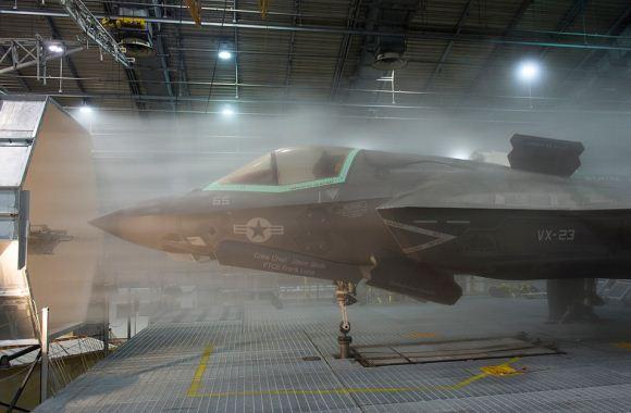 F-35 uji coba iklim