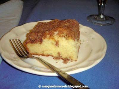 Margaret's Morsels | Overnight Coffee Cake