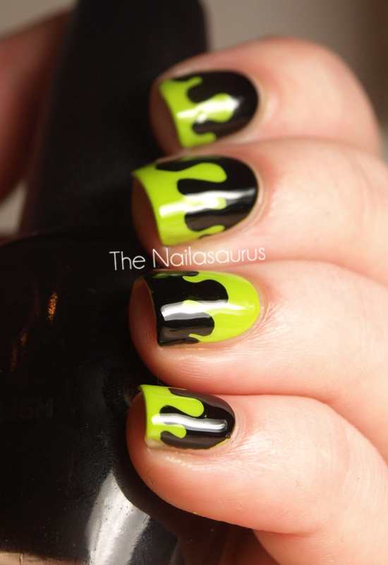 Reader Nail Art Week: Reader, Beware, You're In For A Scare! (Goosebumps Nail