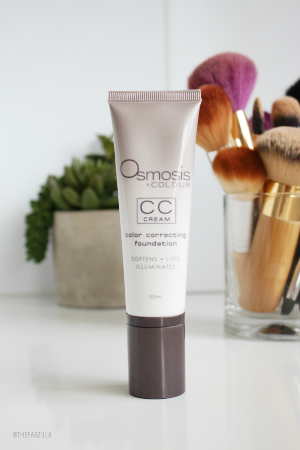osmosis + colour cc cream color-correcting foundation, review, swatch, what is cc cream