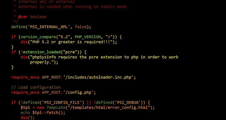 como funciona el lenguaje de programacion php