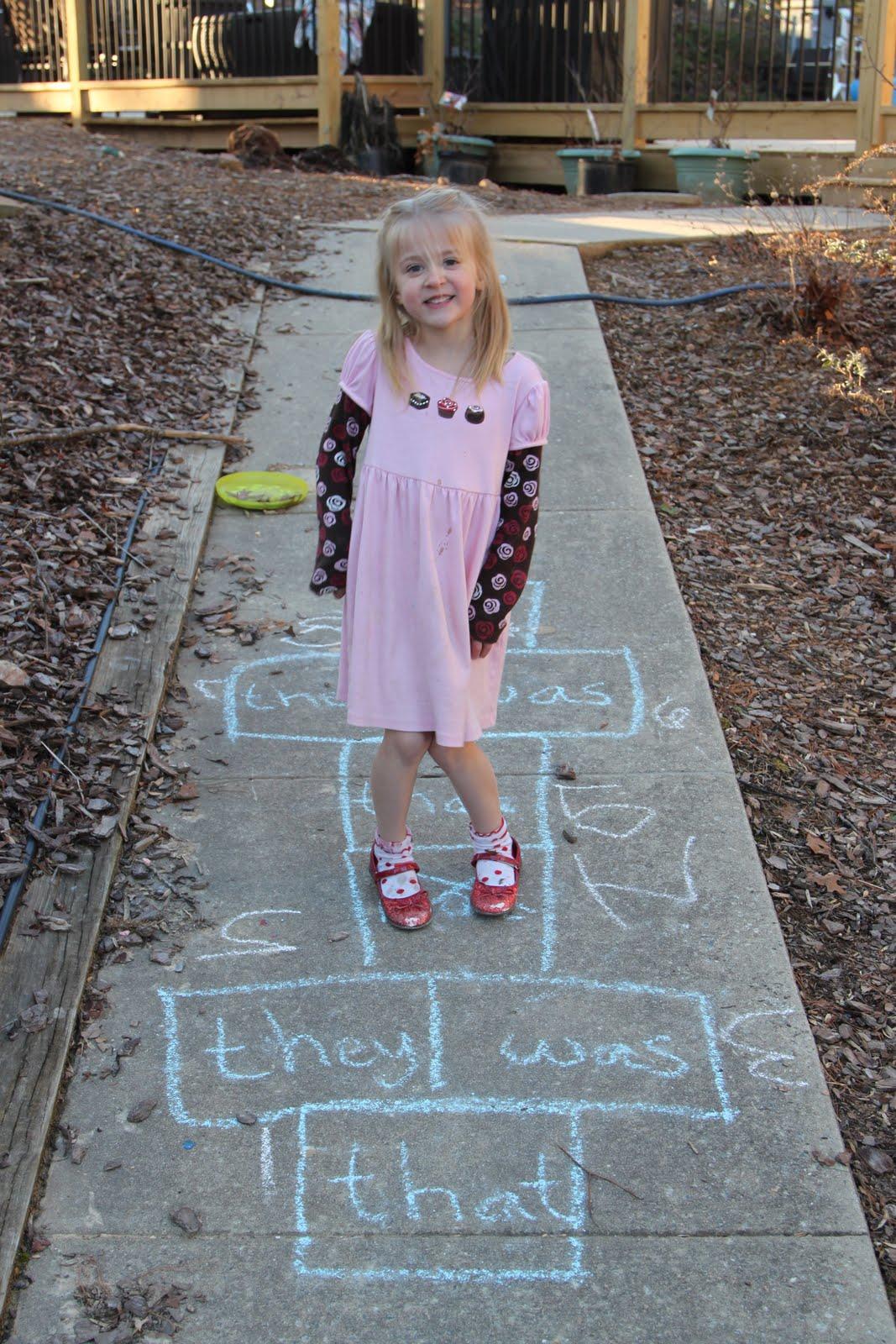 Kindergarten Sight Words Sight Word Hopscotch