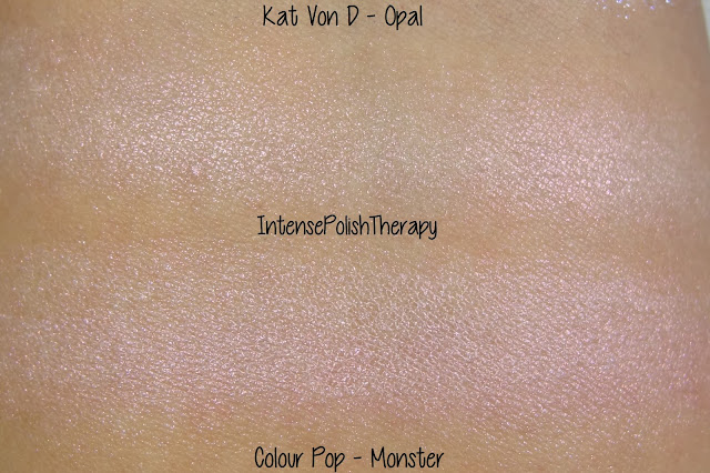 Kat Von D's Opal & Colour Pop's Monster