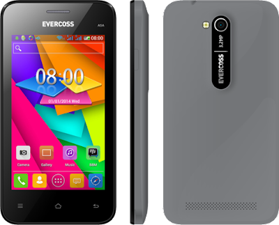 Gambar HP Evercoss A5A Grey (Abu-abu)