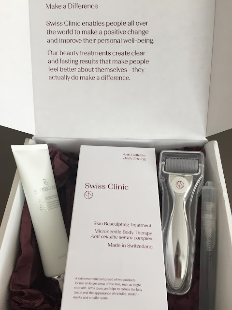 Adriana Style Blog, blog modowy Puławy, Cosmetics of the month, Kosmetyki, Microneedle Body Therapy, Swiss Clinic, Swiss Clinic Skin Resculpting Treatment, Swiss clinic Rejuvenating Serum, Face Roller