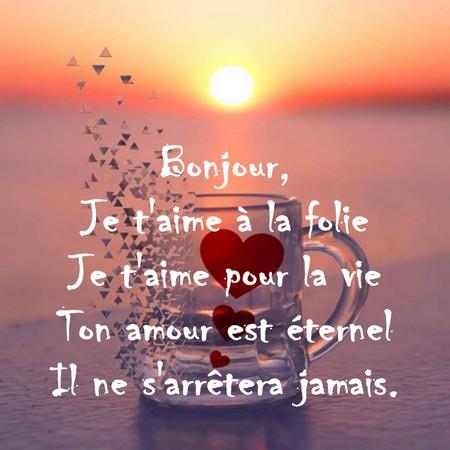 Sms Romantique Pour Dire Bonjour Messages D Amour