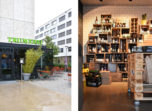 Bierlokal in Salzburg: Die Trumerei