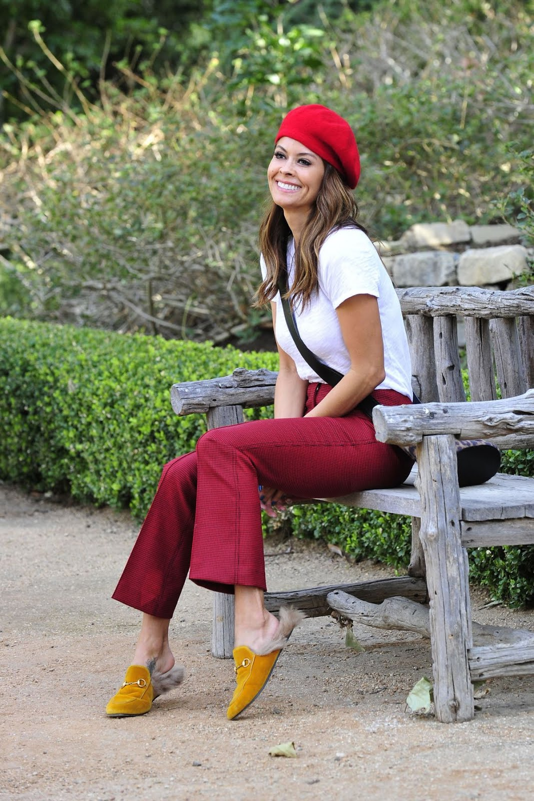 Dancing with the Stars actress Brooke Burke Out And About At Park In Malibu
