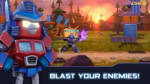 Download Angry Birds Transformers Mod Apk Unlimited Money