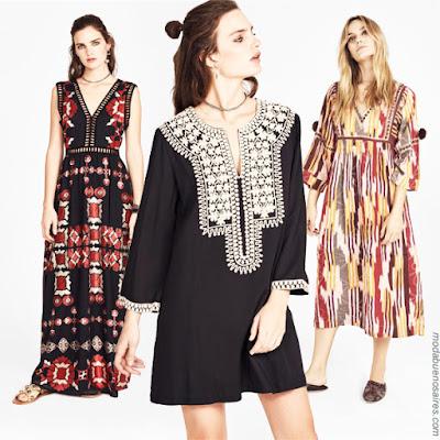Vestidos primavera verano 2019 Rapsodia │ Vestidos de moda primavera verano 2019. │ Moda 2019 vestidos.
