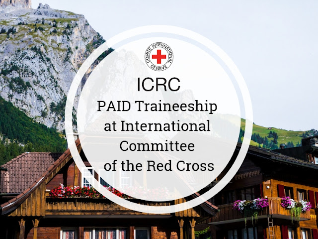 ICRC Internship Program 2019 | Monthly Stipend of PKR 15,000/