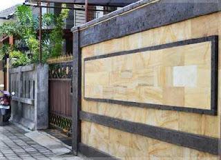 pagar tembok minimalis tanpa besi