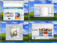 Download Dexpot, several free desktop for your pc