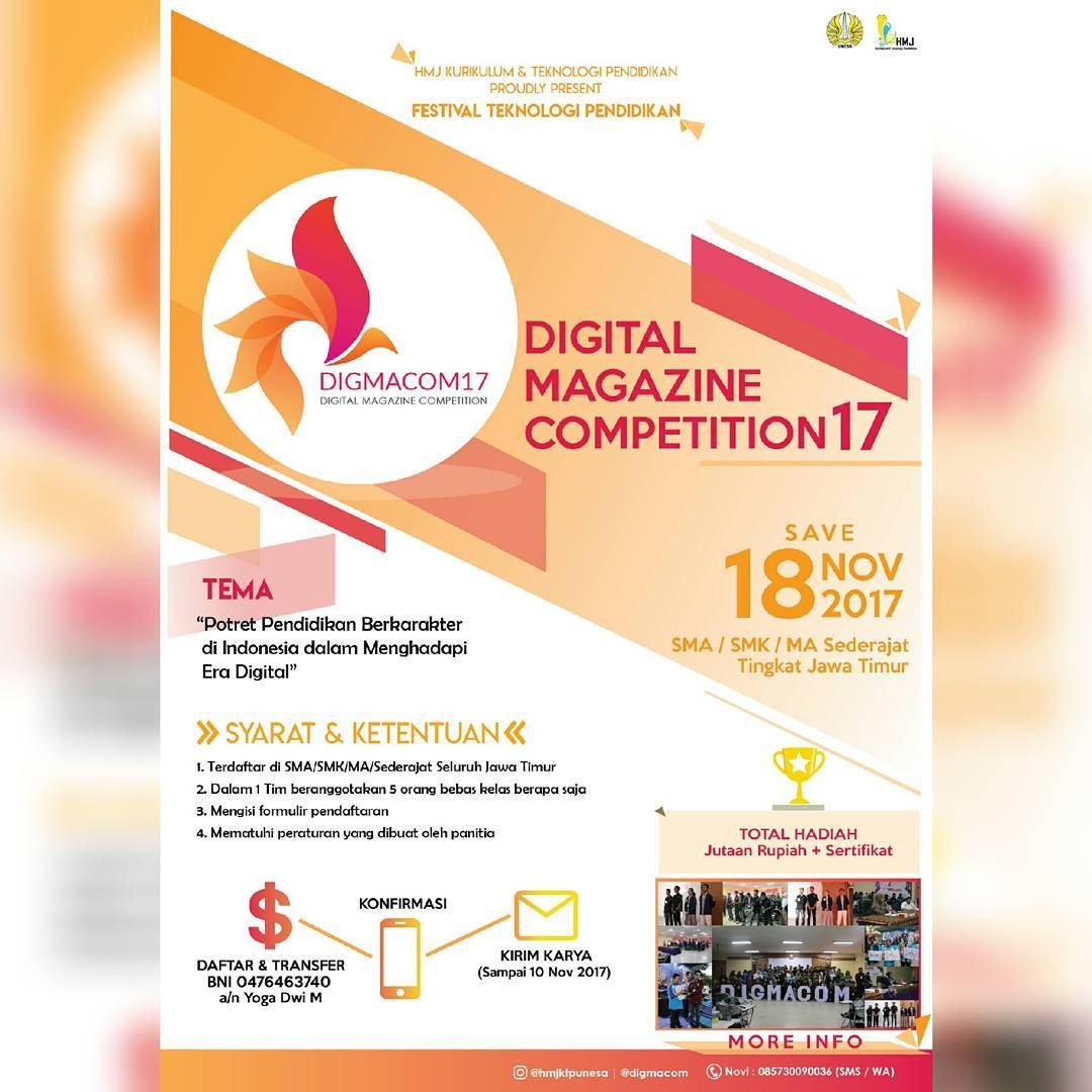 Digital Magazine Competition 2017