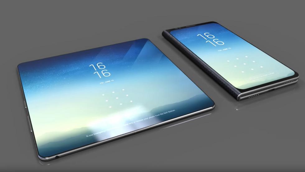 Samsung-smartphone-pieghevole