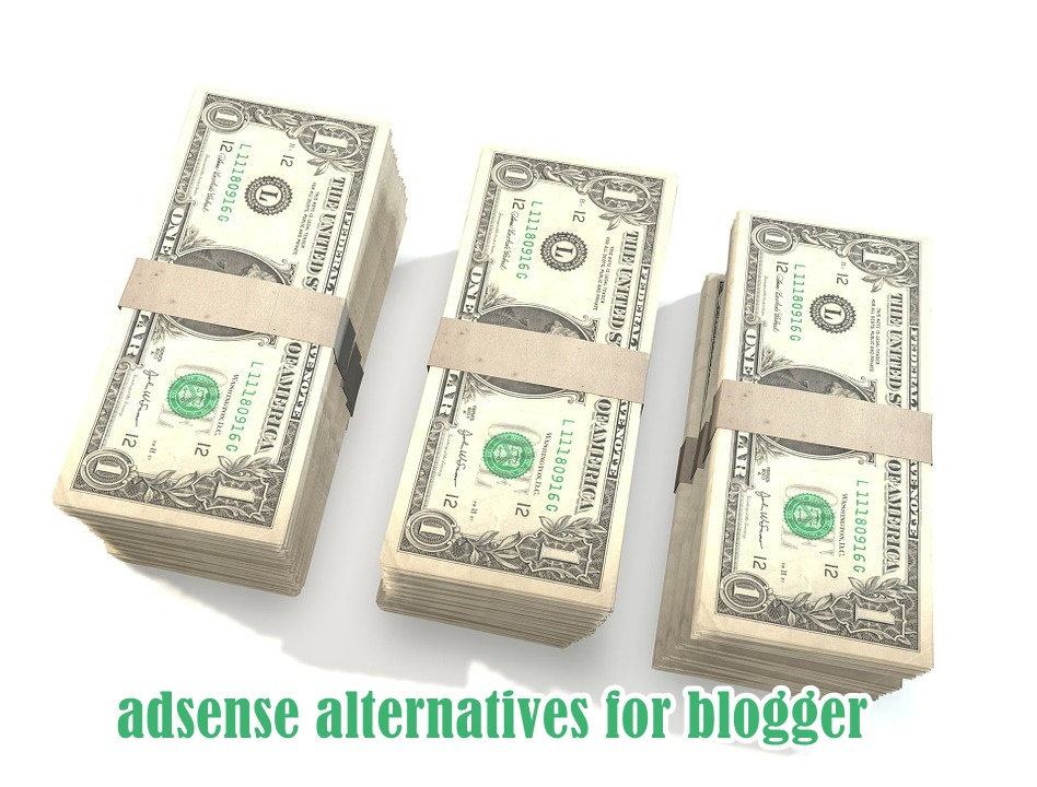 adsense alternatives for blogger