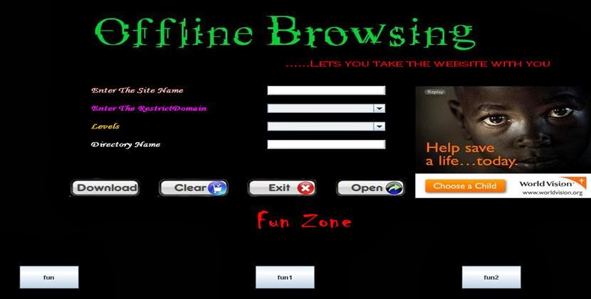 Free Projects Code: Offline Browser Project Source Code