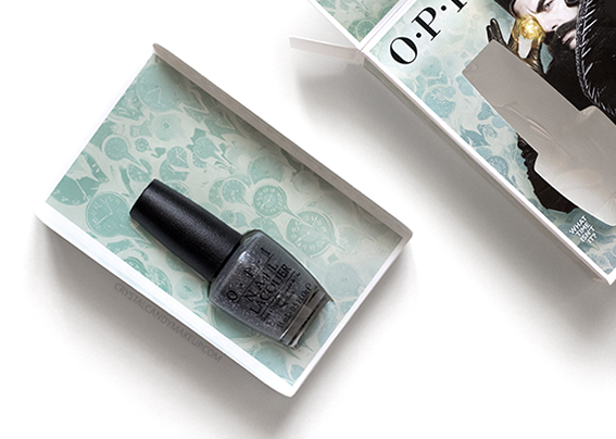 OPI Alice Through the Looking Glass Collection Review Photos What Time Isn't It