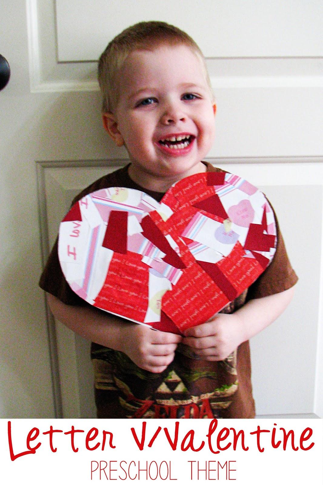 Mommy S Little Helper Letter V Valentine S Day Preschool Theme