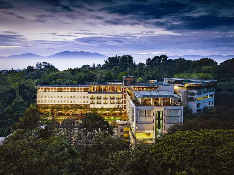 Hotel Padma Bandung, Mengedepankan Panorama Indah