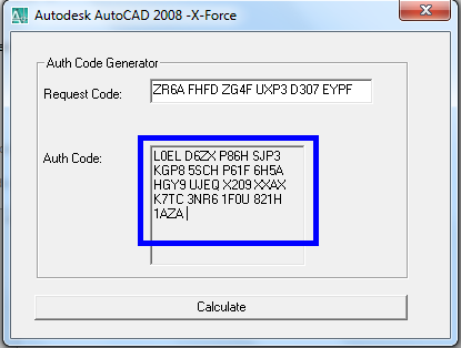 Autodesk AutoCAD 2008 serial code