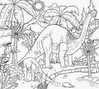 Jurrasic Park Wold Coloring Pages