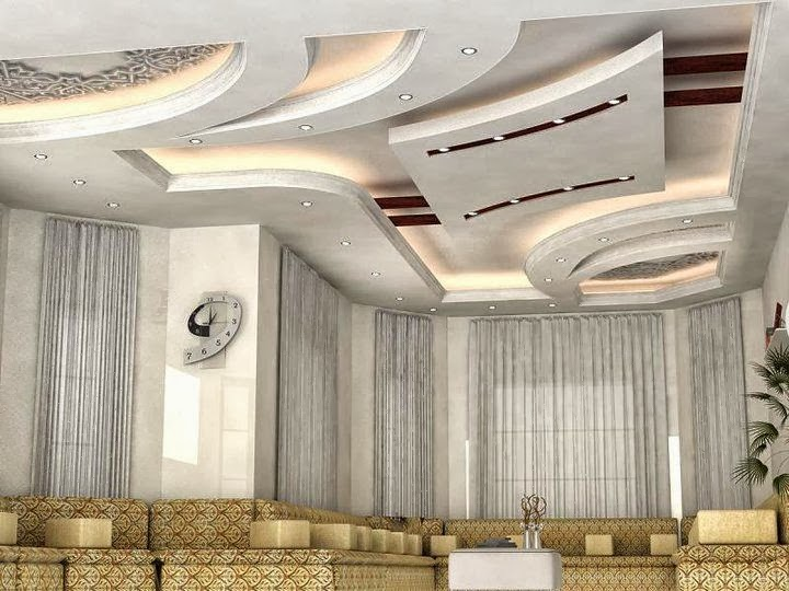 Cool Best Modern False ceiling designs for living room interior