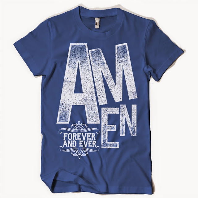 christian tshirt amen