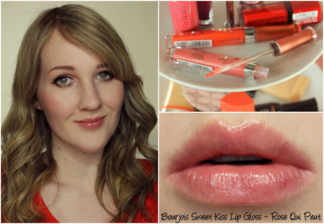 Bourjois Sweet Kiss Lip Gloss - Rose Qui Peut swatch & review