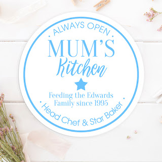 'Kitchen' Design personalised Wall Plaque - £17.95, other designs & colours available