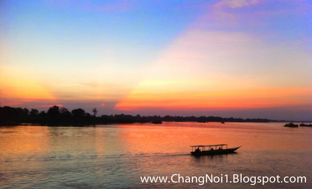The mighty Mekong River - Thailand