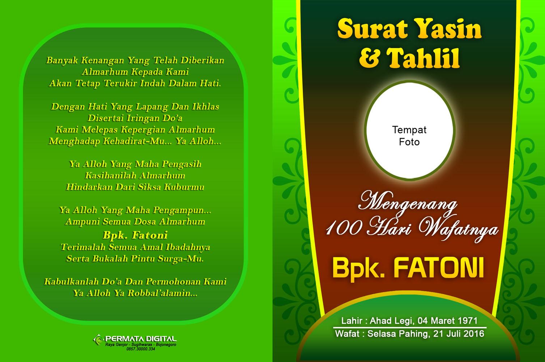 Free Download Buku Surat Yasin Dan Tahlil Surat Yasin A