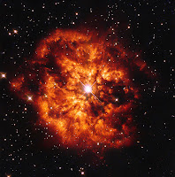 WR 124, Nebula M1-67