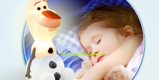 Logo Narhinel ti regala la luce amica Olaf