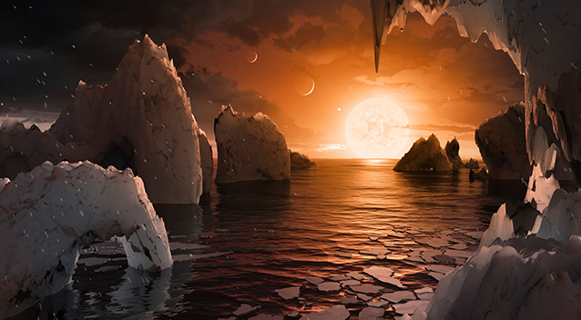 Seven Earth-like Planets Discovered TRAPPIST-1f