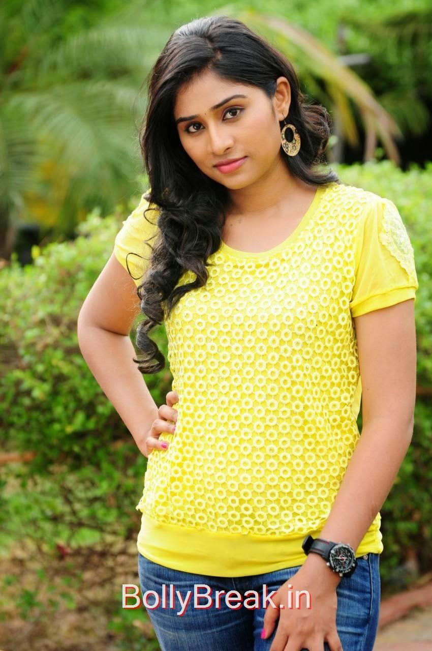 Kollywood Actress Archana,  Archana Stills in yellow top From Madurai Maavendharkal Tamil Movie
