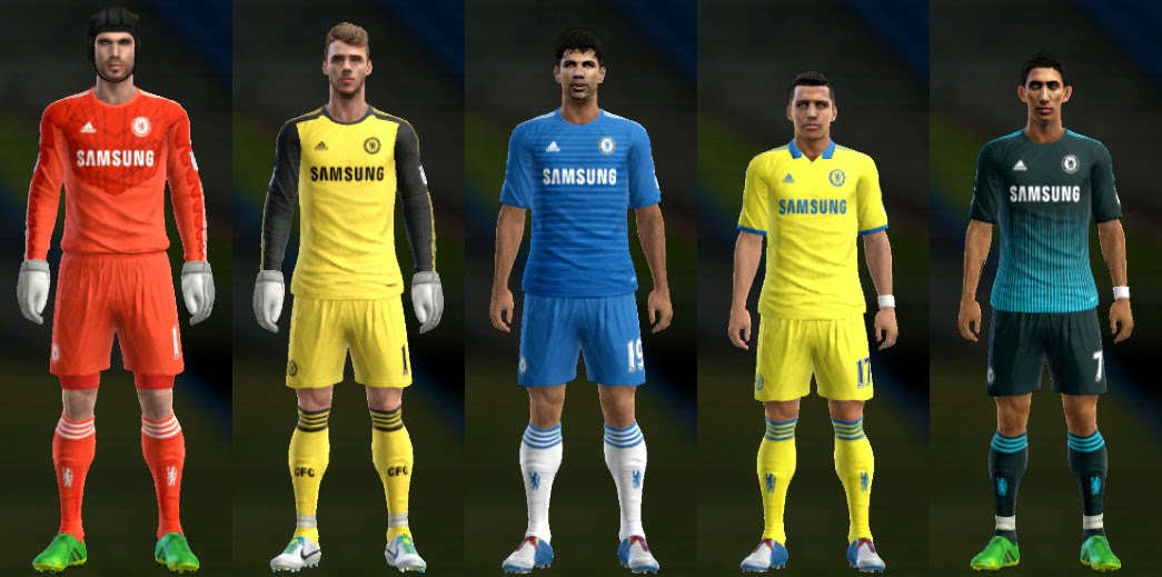 great fit fd60e 156af ... PES 2013 Chelsea 1415 GDB by Ramz ...