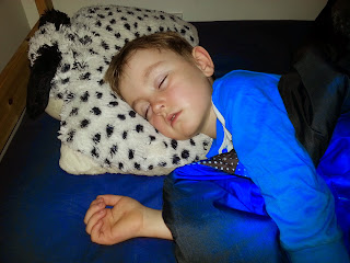 Photo of boy sleeping
