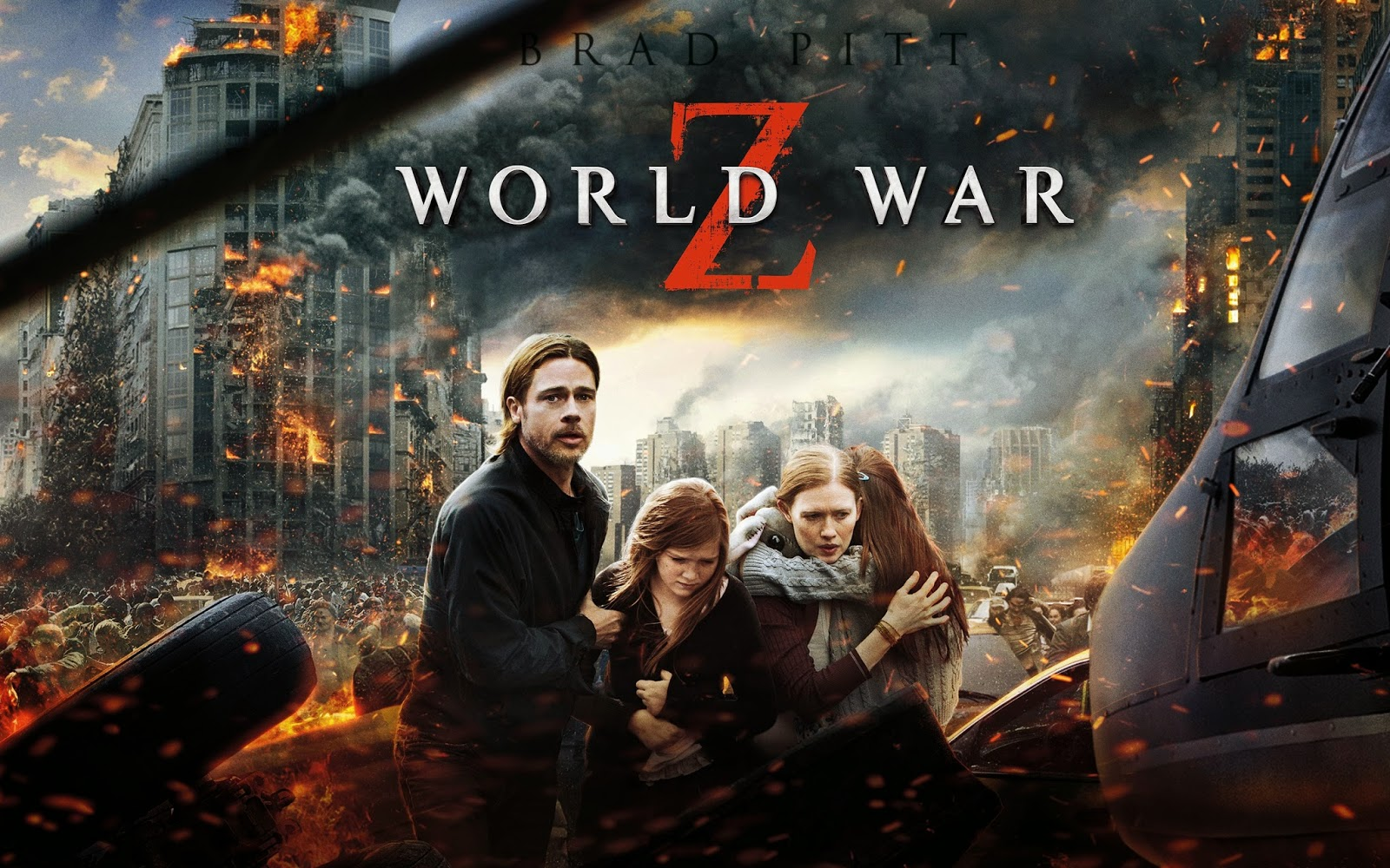 Inception Hindi Dubbed Hd: World War Z (2013) Full Movie Watch HD Online Free