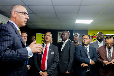 Excitement As Dunlop Opens Victoria Island Store (photos)