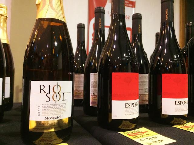 Vinho Rio Sol Moscatel e Esporão