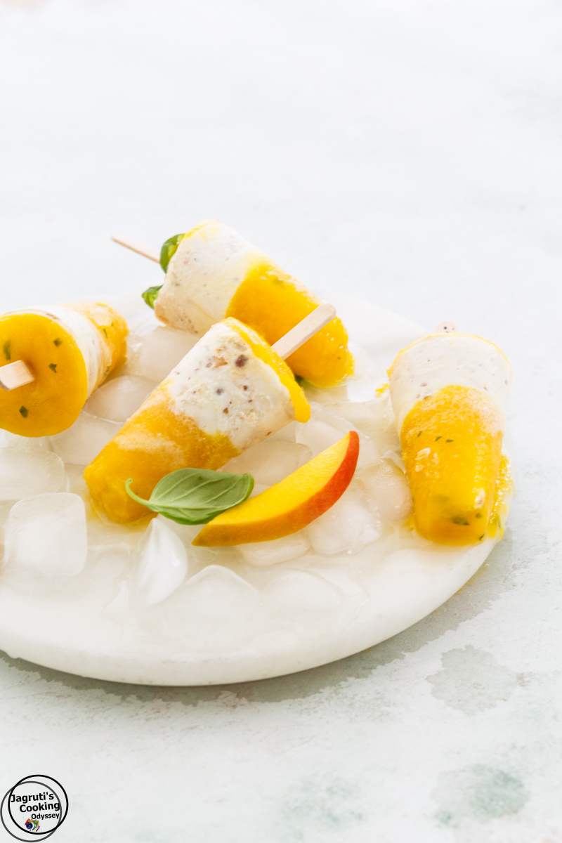 Sugar-Free-Mango-Basil-and-Cashew-Yogurt-Popsicle-Jagruti's-Cooking-Odyssey
