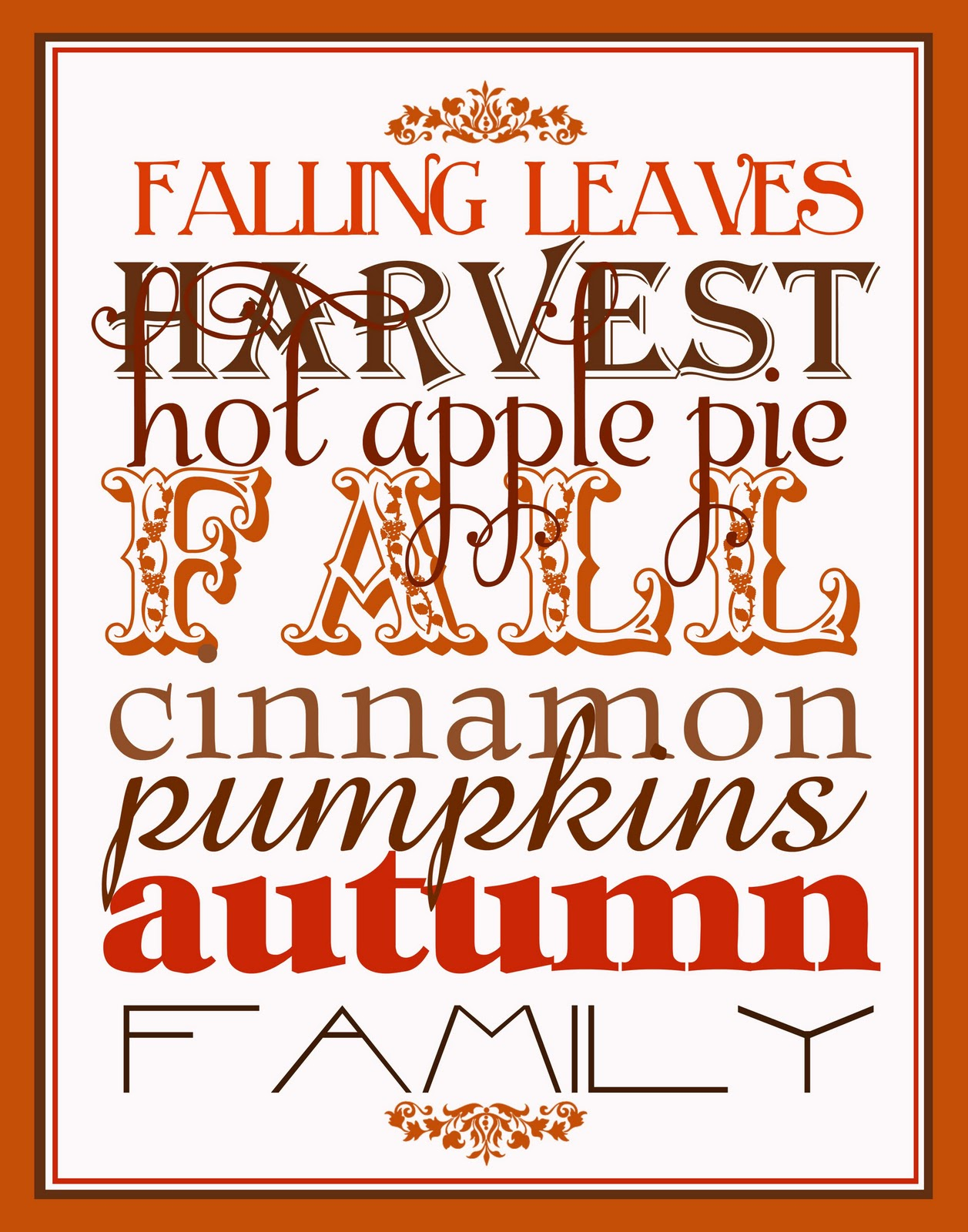 It S Written On The Wall Free Printables Lots Of Halloween And Fall Subway Art To Choose From