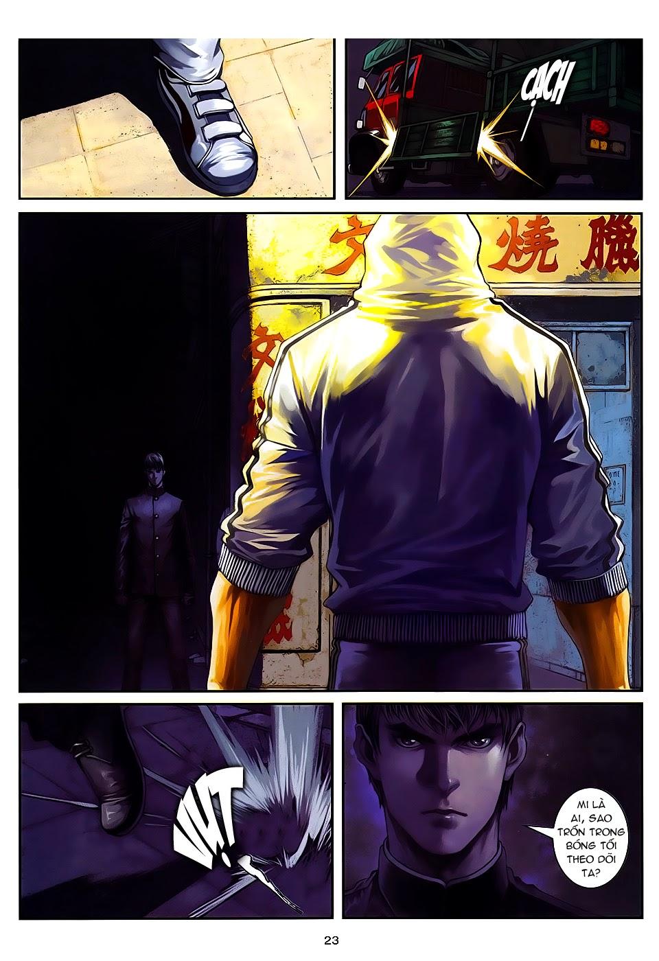 Quyền Đạo chapter 8 trang 23