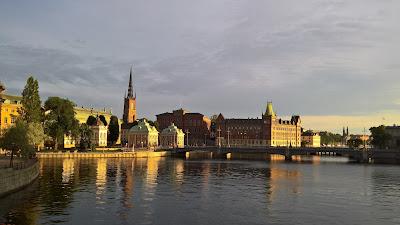 View toward Riddarhuset.