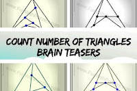 Count Number of Triangles: Easy Brain Teasers with Answers
