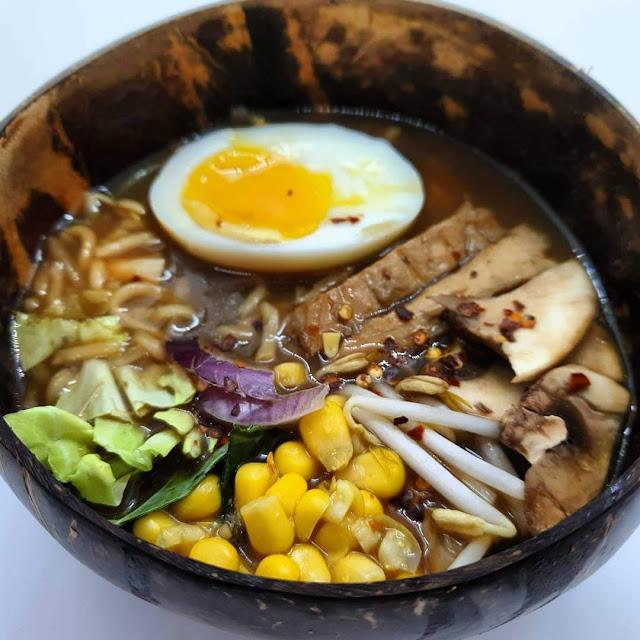 Slow Cooker Ramen Noodle Soup Recipe slimming world friendly low calorie