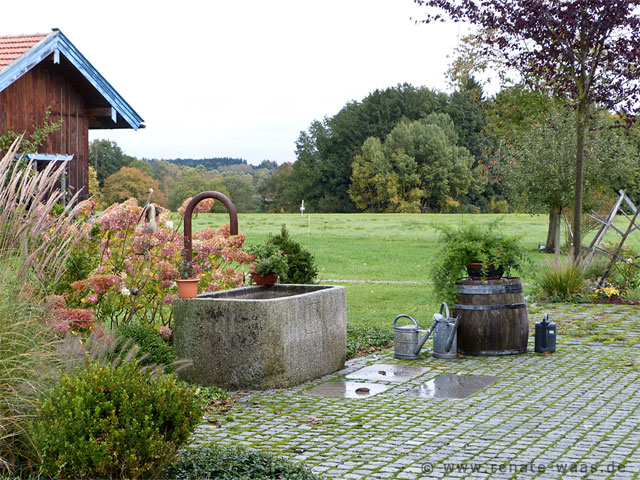 Gartenblog zu gartenplanung gartendesign und for Gartengestaltung mit brunnen