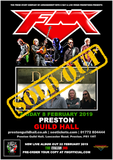 FM + Dare - Preston Guild Hall - 8 Feb 2019 - poster